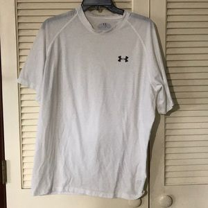 White Short Sleeve Under Armour T-Shirt